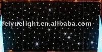 White LED star cloth