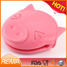 RENJIA pig oven mitts fashionable oven mitt silicone pig oven mitt