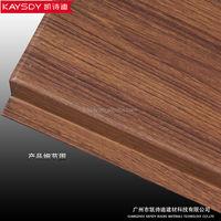 aluminum ceiling tile/ wood grain G shaped ceiling width 100mm