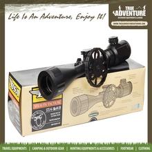 True Adventure TA8-013 Mil-dot Red & Green Illuminated Rifle Scope STS4-16X44IR Hunting Optical Riflescope