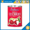 Canned lychee in preserved fruit of OEM Halal for Malaysia