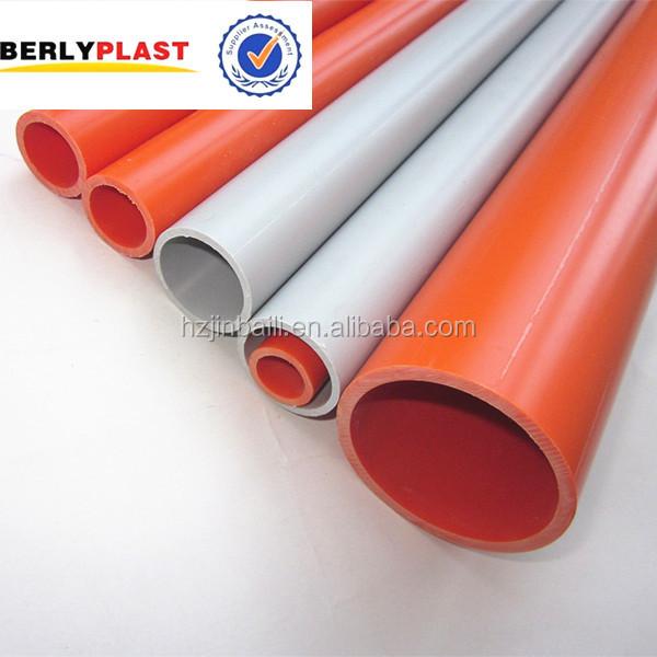 High pressure large diameter pvc pipe for electrical buy