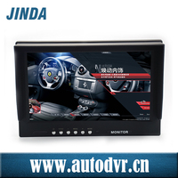 2015 Latest hot products, 9 inch Quad LCD monitor with DVR