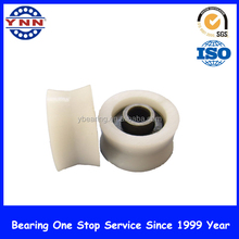 V Groove 606 Bearing Plastic wheel nylon pulley,plastic bearings