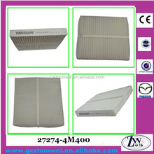 Excellent Car Cabin Filter, Cabin Air filter Air Conditioning Filter for Teana 27274-4M400
