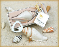 20pcs Unique Beach Wedding favor of Sea Shell Bottle Opener wedding souvenirs DHL Freeshipping