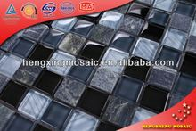 KS014 China Foshan Manufacturer split face stone mosaic tile
