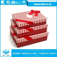 Most Popular Products Branded Red Paper Gift Box