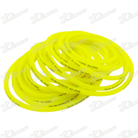Pit Dirt Bike Parts 10M Soft Rubber Fuel Petrol Hose Pipe For Minicross 50cc To 160cc
