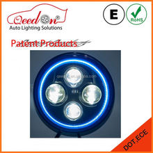 Qeedon new arrival with halo ring led headlight lamp