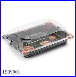 Sushi tray with lid sushi packing container