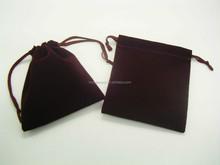 For car promotion velvet gift bag