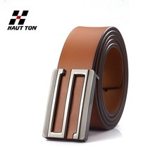 BK41 reaationary design men genuine fashion full leather belt