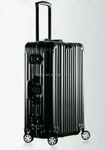 External Caster wheel aluminum suitcase /luggage set for woman and man