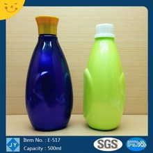 500ml 16oz new design pet bottle for shampoo, conditioner, hair mask, lotion