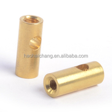 Custom hardware hollow brass pin for electric heating