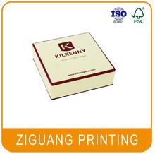 Custom printed a4 size paper box