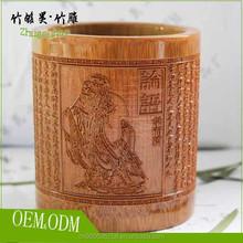 Custom birthday present bamboo tube