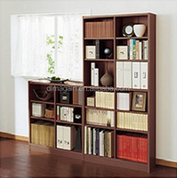 particle board wooden bookcase with high quality particle board wooden bookcase with high quality