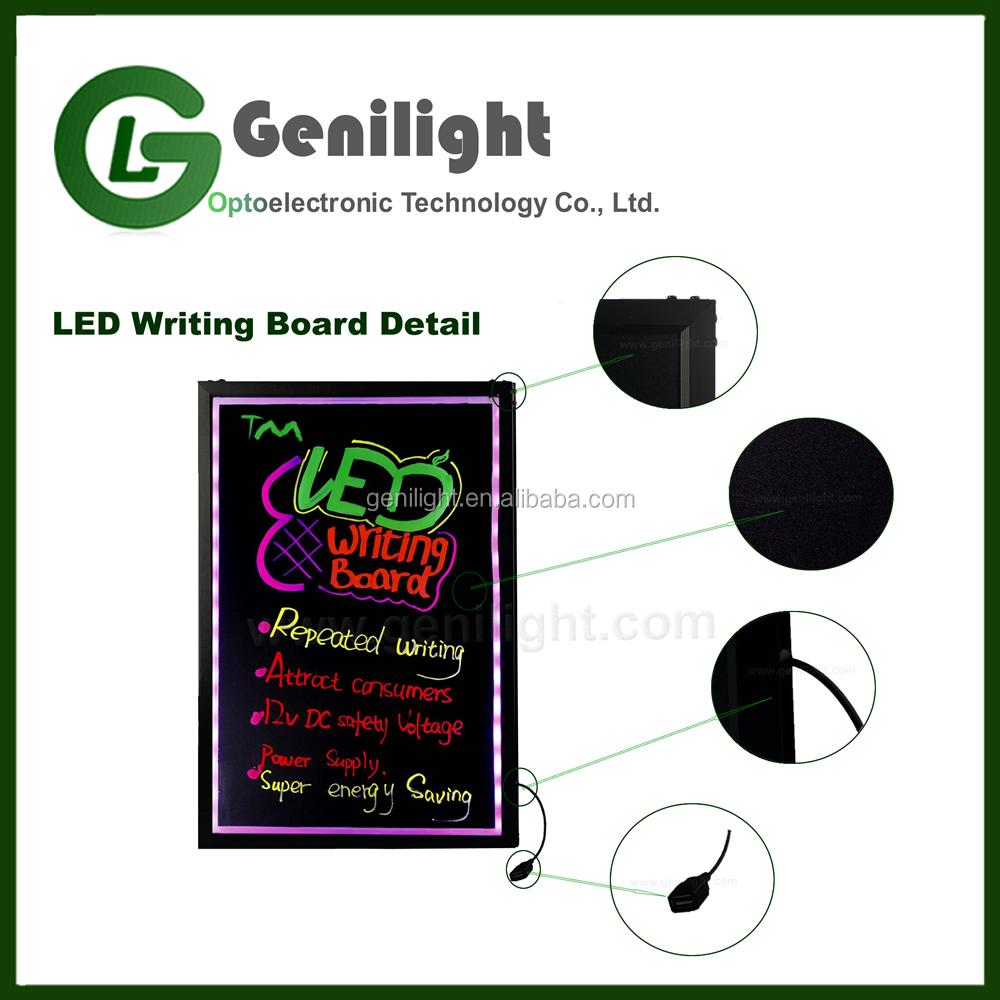20154 Hot Sale High Quality LED Writing Board 40*60cm