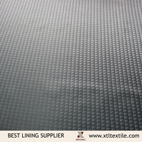 Beautiful Ladder Pattern Polyester Weaving Lining for Men's Suit