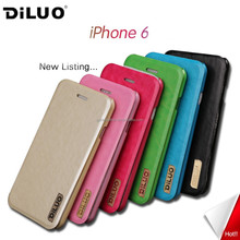 2015 Diluo New Arrival Guangzhou Mobile Phone Accessories,Leather Phone Case For Iphone 6