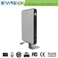 Educational PC RDP8.0 Sharevdi X5,built-in Linux OS,1G RAM,CPU 1.5Ghz, Quad core,support online video/Citrix/Vmware