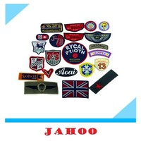 Hot Sale Fashion Design Woven Fabric Patches For Children