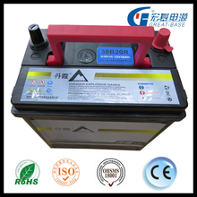 large factory with best price 12V 36ah 6B20 12v lead acid long service life car battery