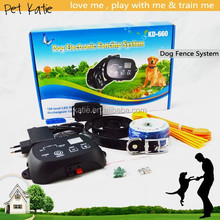 Pet Training Advanced Dog Fence System with Electronic Shock Collar