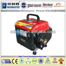 650w retroceso generador de la gasolina