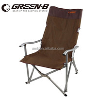 AIMIKA 2015 heated OEM customized high quality aluminum folding beach chair,fishing chair camping chair fashion chair