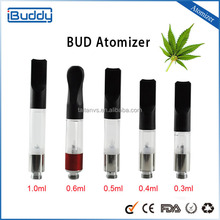 2015 Bud Touch 0.2ml Slim bbtank CO2 cartridge disposable cigarette wax vaporizer