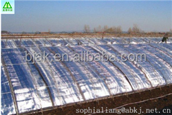 Aluminum foil polyester wadding used in Vegetable greenhouse cover for thermal insulation