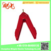 MX12-0045 Red New Large Alligator Clip with toothless Sharp Head