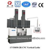 CVT8050-2R cnc vertical turret lathe for sale