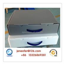 square transparent plastic case