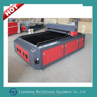 Worldslaser Co2 Laser Cutting Machinery 1325 150w for Marten Pig leather Cow Leather sheep leather