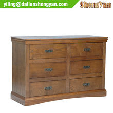 Wide Wooden Cabinet, Kitchens Flat Pack Chest