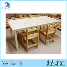 Montessori materials furniture desk and chairs