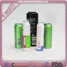 Packaging Aluminum Cosmetic Aerosol Spray Can
