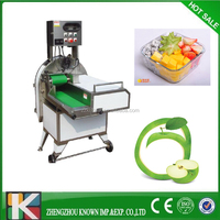Long service life best price vegetable fruit cutter with low investment and low energy cost