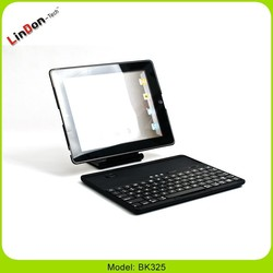 Wireless Bluetooth Keyboard Detachable Rotating Cover Case For iPad 2 3 4 BK325