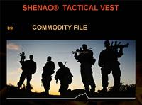 Tacticla vest ,multi pocket vest ,self defence tool