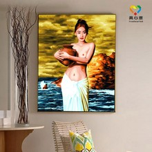 chinese painting wholesale Zhuhai Truehearted picture hot sexy girls
