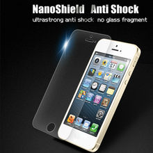 Cell phone accessories nano-memory technology screen protector for iphone5 oil proof nano invisible screen shield film