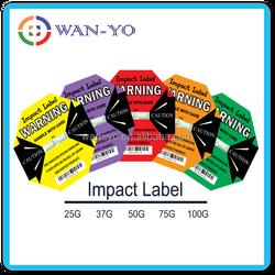[ Impact label -shipping label reduce cargo damage ]