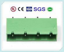 Sealing Type Male Vertical Termianl Connector XS2EHDF 7.62mm 300V 15A with UL CE SGS CQC Certification