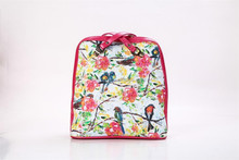 fashion digital print waterproof ladies fancy canvas satchel bags with zipper