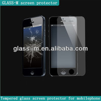 new products 2014 innovative product tempered glass screen protector for iphone 5/5c/5s